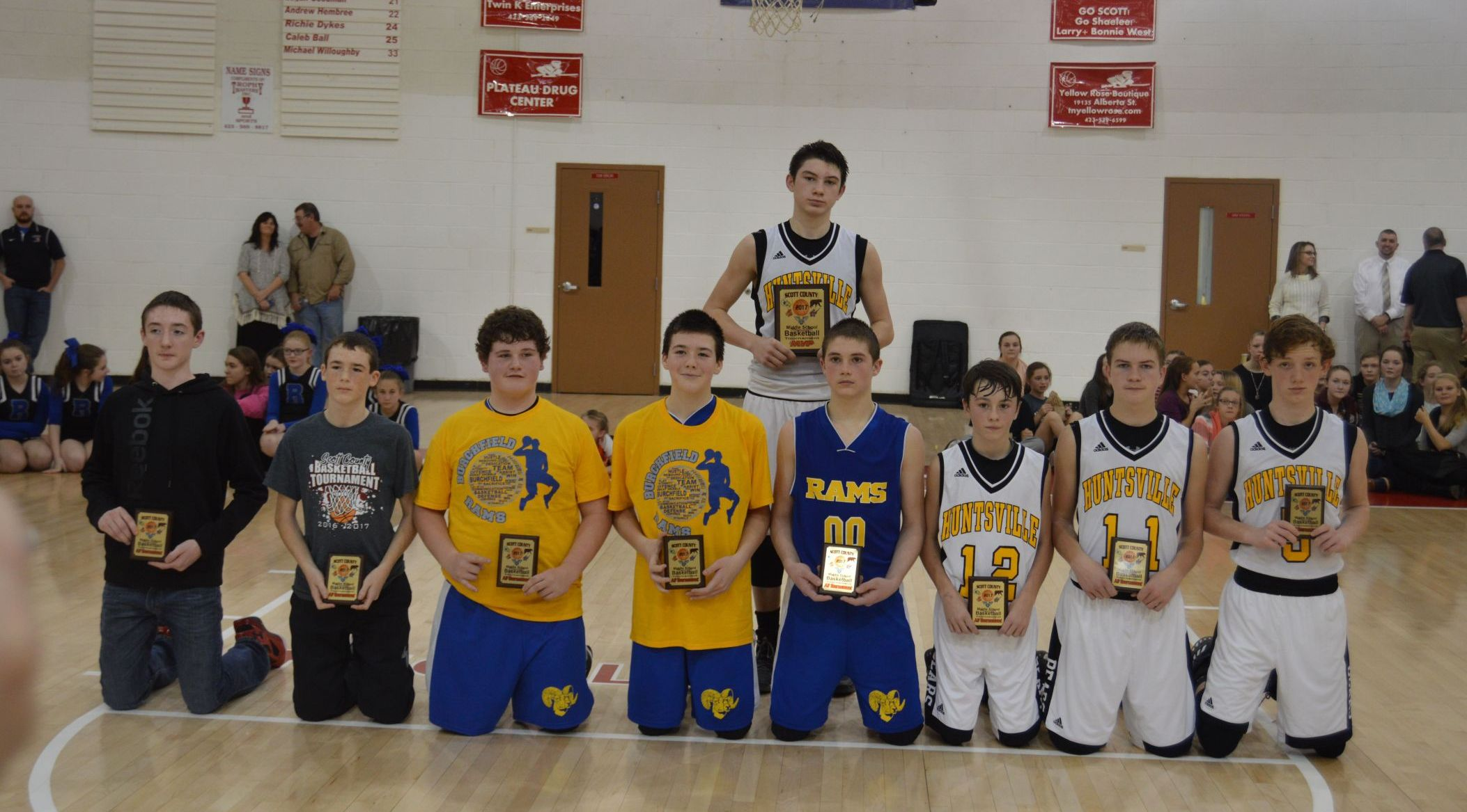 16 17 all tournament team boys
