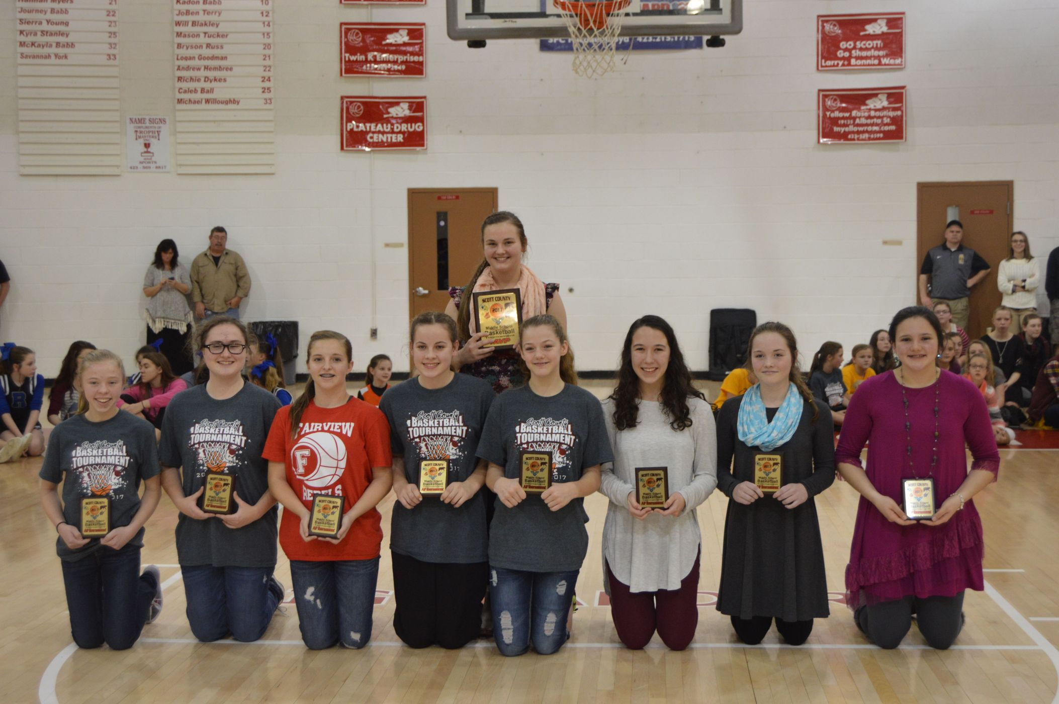 16 17 all tournament team girls
