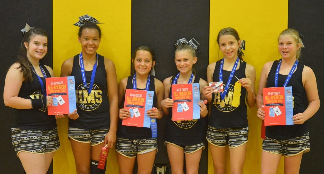 2017 cheer camp awards