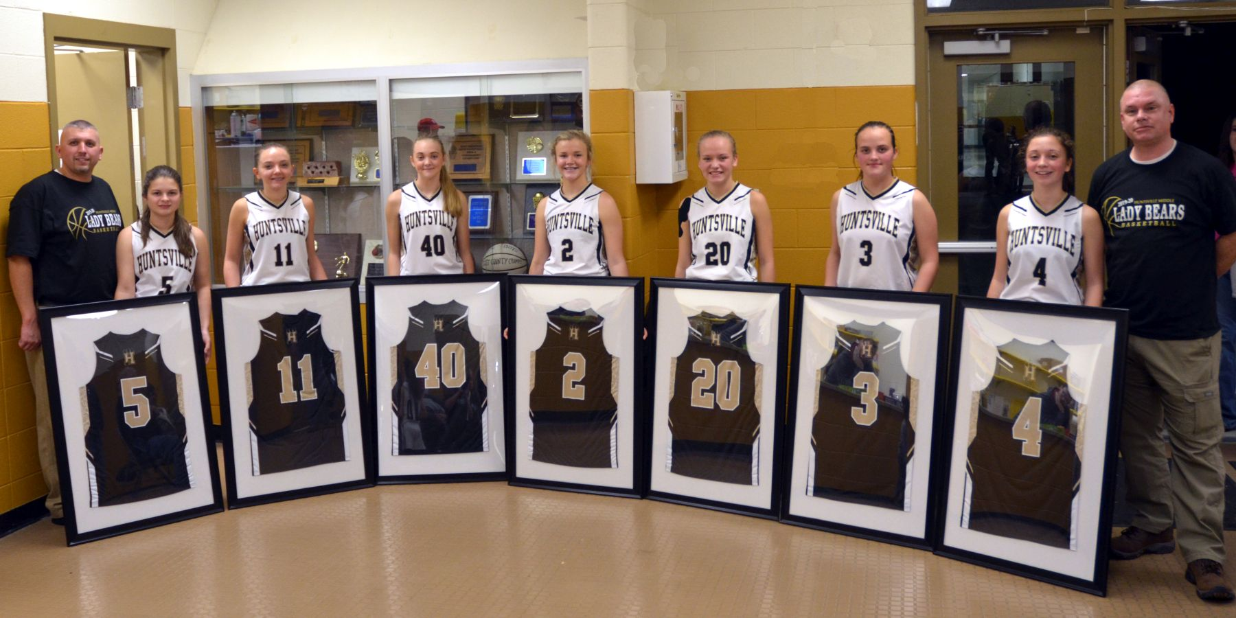 8th grade night lady bears 2